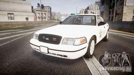 Ford Crown Victoria Sacramento Sheriff [ELS] для GTA 4