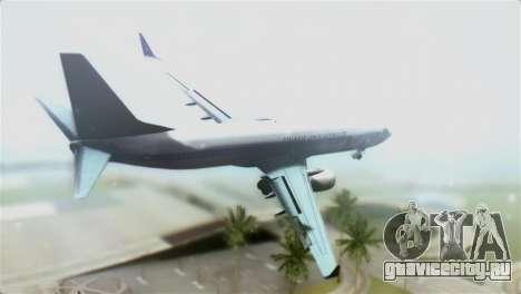 Boeing 737-800 Polskie Linie Lotnicze LOT для GTA San Andreas вид слева