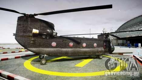 Boeing CH-47G Chinook [EPM] для GTA 4 вид слева