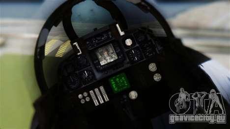 F-14A Tomcat VF-21 Freelancers для GTA San Andreas вид сзади