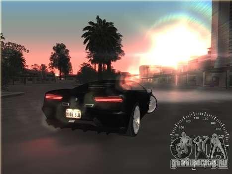 Простой спидометр для GTA San Andreas