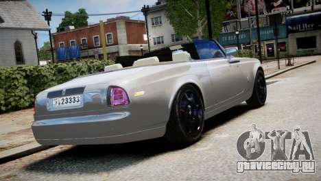Rolls-Royce Phantom Coupe 2009 для GTA 4 вид слева