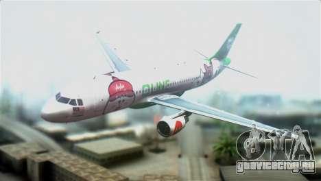 Airbus A320-200 AirAsia Line для GTA San Andreas