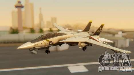 F-14A Tomcat VF-202 Superheats для GTA San Andreas вид изнутри