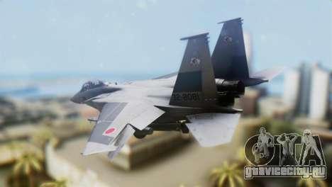 F-22J Japan Air-Self Defense Force для GTA San Andreas вид слева