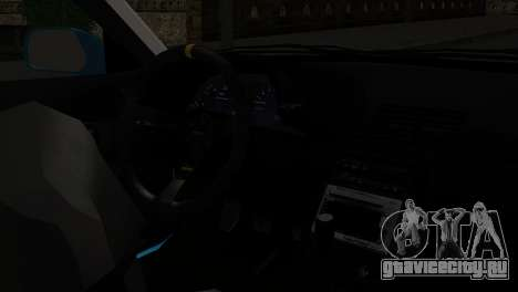 Nissan Skyline R32 Camo Drift для GTA San Andreas вид справа