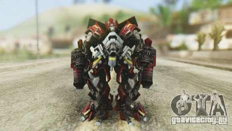 Ironhide Skin from Transformers v1 для GTA San Andreas второй скриншот