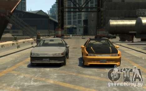 Vapid Fortune Drift для GTA 4 вид справа