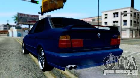 BMW M5 E34 Gradient для GTA San Andreas вид слева