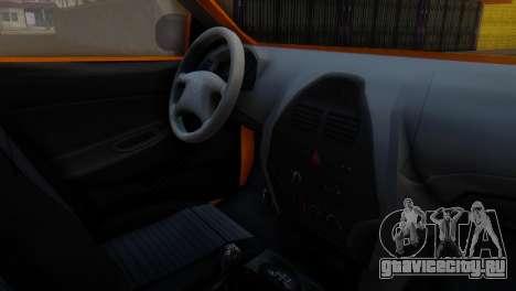 Tiba Taxi v1 для GTA San Andreas вид справа