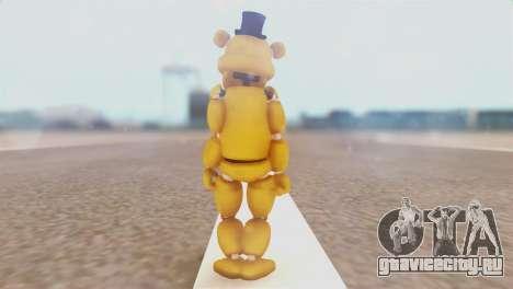 Golden Freddy v2 для GTA San Andreas третий скриншот