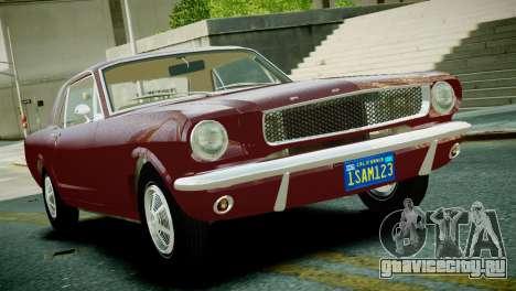 Ford Mustang 1965 для GTA 4