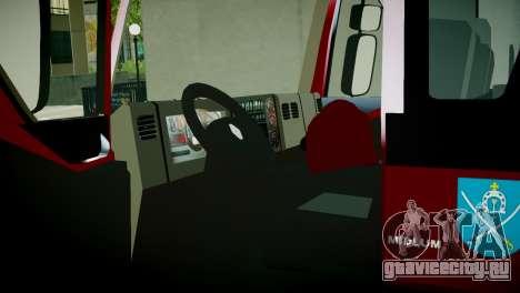 Renault Midlum 300.14 dXi Firetruck для GTA 4 вид сзади