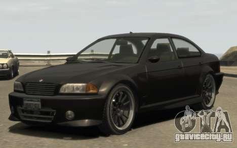 Übermacht Sentinel (XS) 4-door для GTA 4