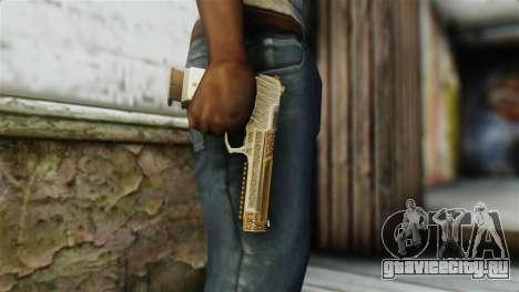 Desert Eagle Skin from GTA 5 для GTA San Andreas третий скриншот
