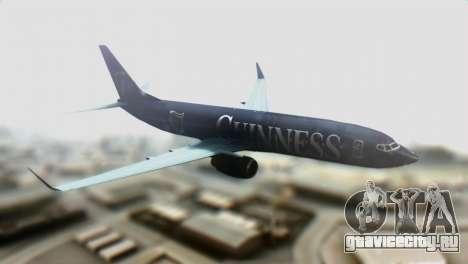 Boeing 737-800 Ryanair Guinness для GTA San Andreas