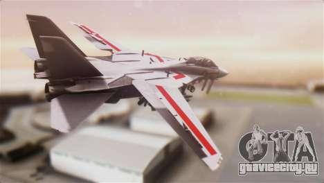 F-14D Tomcat Macross Red для GTA San Andreas вид слева