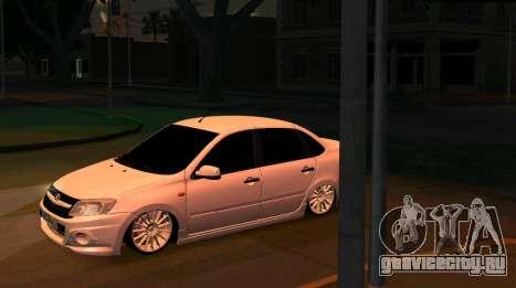 ВАЗ 2190 Sport для GTA San Andreas вид сзади слева