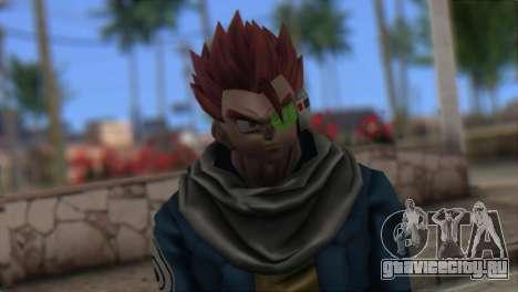 Dragon Ball Xenoverse Mysterious Warrior для GTA San Andreas третий скриншот