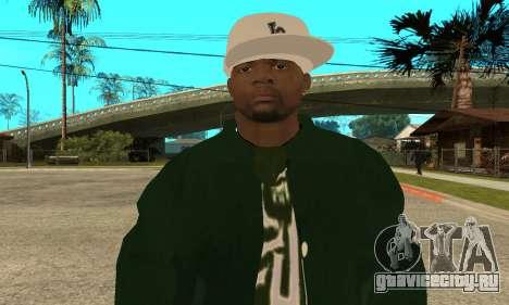 Groove St. Nigga Skin First для GTA San Andreas