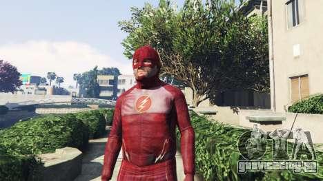 Костюм Flash для GTA 5 второй скриншот