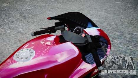Bike Bati 2 HD Skin 3 для GTA 4 вид справа