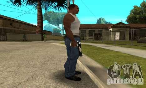 Two Lines Deagle для GTA San Andreas второй скриншот