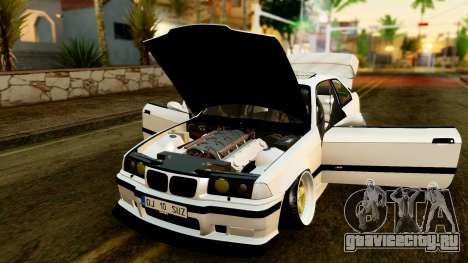 BMW M3 E36 Stance для GTA San Andreas вид сзади