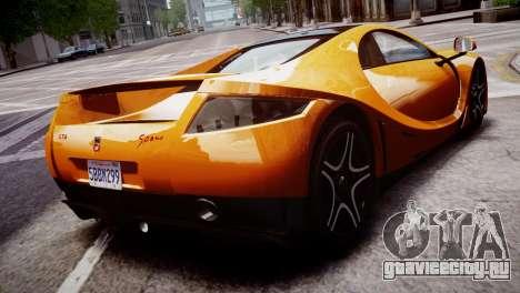 GTA Spano 2013 для GTA 4 вид слева