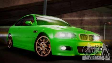 BMW M3 E46 v2 для GTA San Andreas