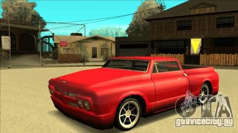 Slamvan Final для GTA San Andreas салон