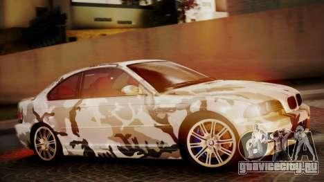 BMW M3 E46 v2 для GTA San Andreas салон