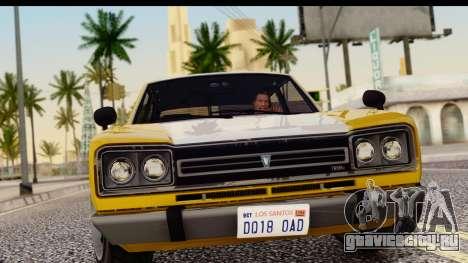 GTA 5 Vulcar Warrener SA Style для GTA San Andreas вид сзади слева