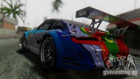 Porsche 911 GT3-RSR для GTA San Andreas вид слева
