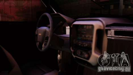 Chevrolet Silverado Enlodada для GTA San Andreas вид сзади