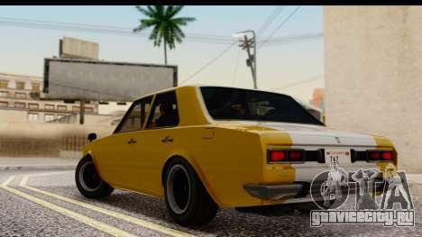 GTA 5 Vulcar Warrener SA Style для GTA San Andreas вид слева
