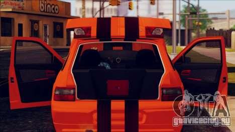 ВАЗ 2112 Turbo для GTA San Andreas вид справа