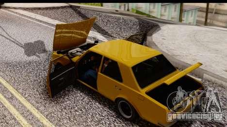 GTA 5 Vulcar Warrener SA Style для GTA San Andreas вид справа