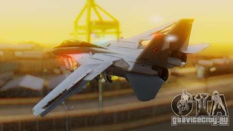 F-14A Tomcat Marynarka Wojenna RP для GTA San Andreas вид слева