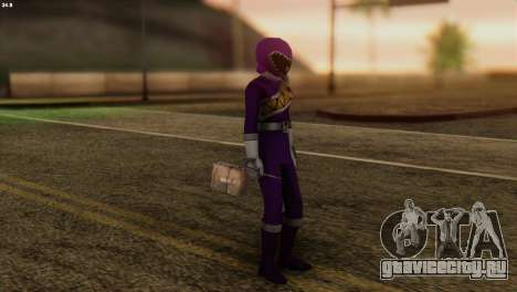 Power Rangers Skin 7 для GTA San Andreas третий скриншот
