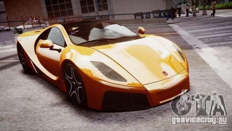 GTA Spano 2013 для GTA 4 вид справа