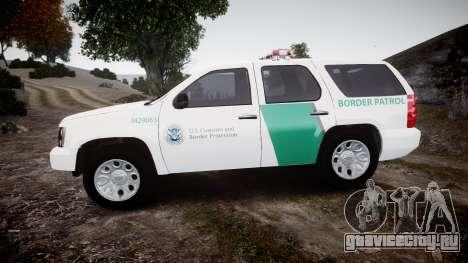 Chevrolet Tahoe Border Patrol [ELS] для GTA 4 вид слева