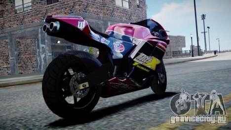 Bike Bati 2 HD Skin 3 для GTA 4 вид слева