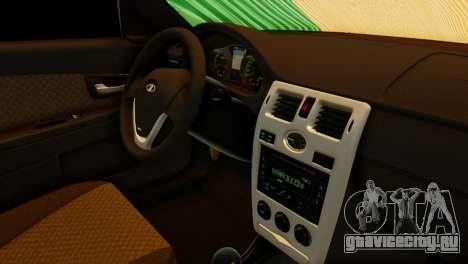 ВАЗ 2170 Italia для GTA San Andreas вид справа
