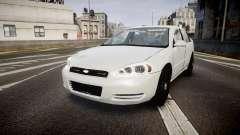 Chevrolet Impala Unmarked Police [ELS] tw для GTA 4