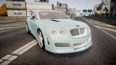 Bentley Continental GT Platinum Motorsports для GTA 4