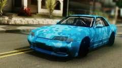Nissan Skyline R32 Camo Drift для GTA San Andreas