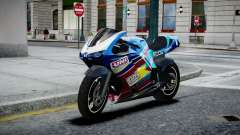 Bike Bati 2 HD Skin 2 для GTA 4