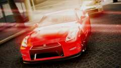 Nissan GT-R 2015 для GTA San Andreas