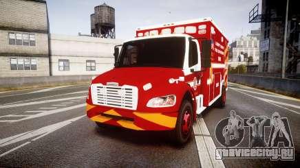 Freightliner M2 2014 Ambulance [ELS] для GTA 4